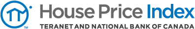 House Price Index - Teranet and National Bank of Canada Logo